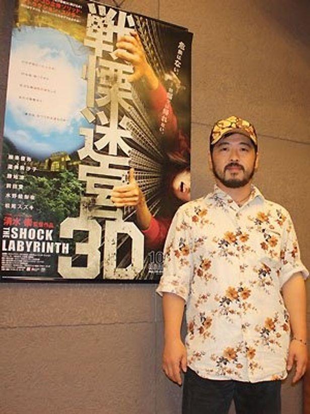 コワイ小道具の製作について語る清水崇監督