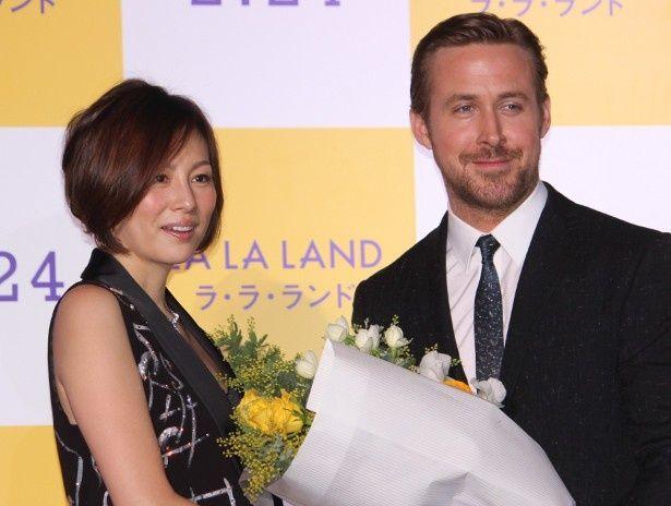 米倉涼子が『ラ・ラ・ランド』のライアン・ゴズリングに対面