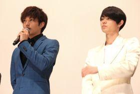 松坂桃李と菅田将暉が観客の「キセキ」合唱に感動「泣いてねえし」