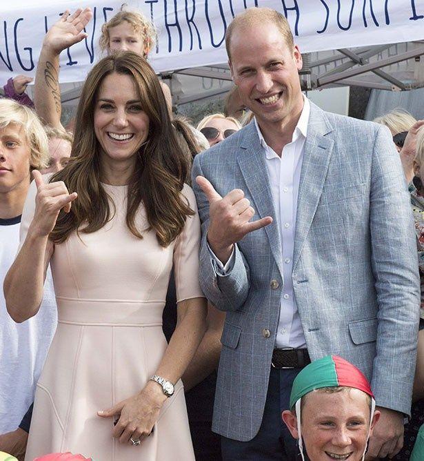 ウィリアム王子とキャサリン妃が授賞式に出席すると発表された