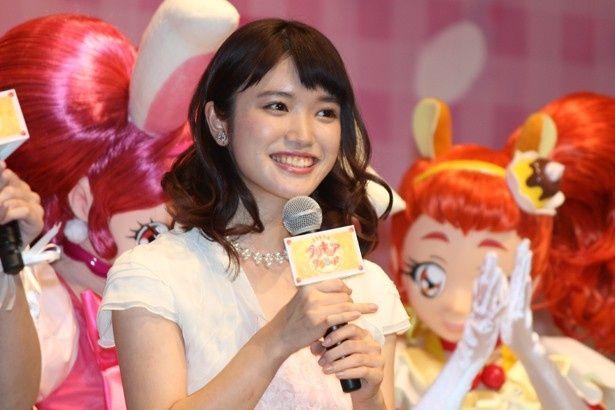 主演を務める美山加恋は喜びとプレッシャーを語った
