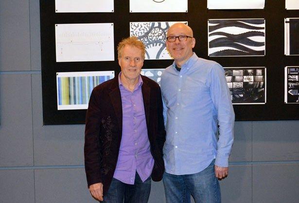 左から、プロダクション・デザイナーのスティーブ・ピルチャーとアート・ディレクターのドン・シャンク