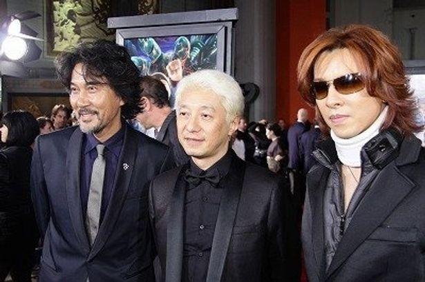 役所広司、手塚眞、YOSHIKIがL.A.プレミア登壇!